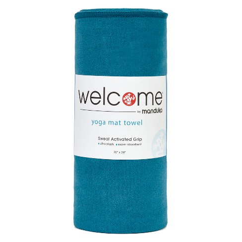 Manduka Welcome Yoga Mat Towel - Maldive - image 1 of 4