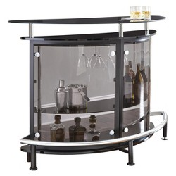 Ariana Bar Table Black - Steve Silver
