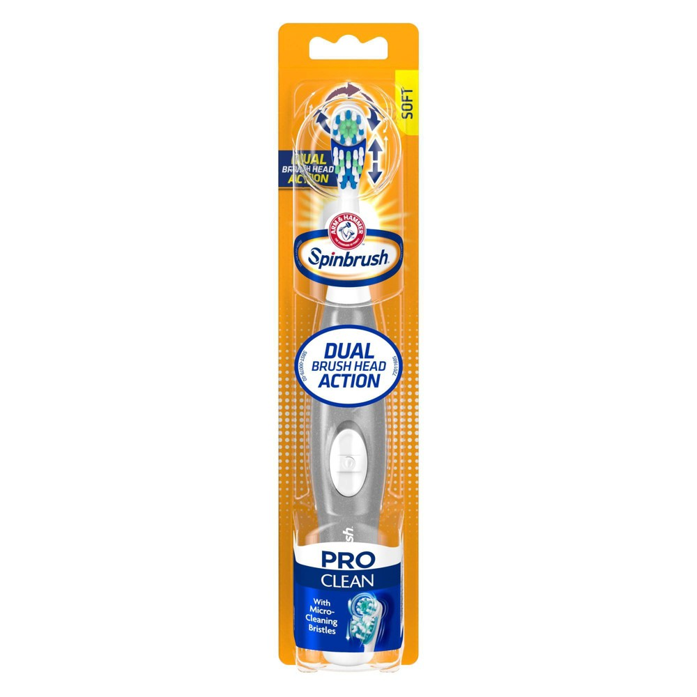 Image of Arm & Hammer Spinbrush Pro Clean Soft Powered Toothbrush
