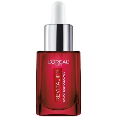 L'Oreal Paris Revitalift Derm Intensives 10% Pure Glycolic Acid Face Serum - 0.5 fl oz