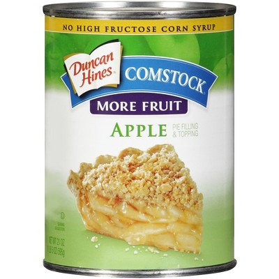 Comstock More Fruit Apple Pie Filling or Topping - 21oz