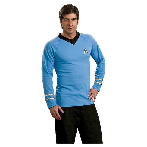 Men's Star Trek Classic Shirt Costume Blue - image 1 of 1