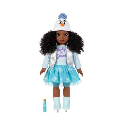 """Disney ILY 4ever 18"""" Brunette Elsa Inspired Fashion Doll"""