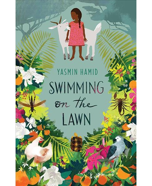 Swimming on the Lawn -  by Yasmin Hamid (Paperback) - image 1 of 1