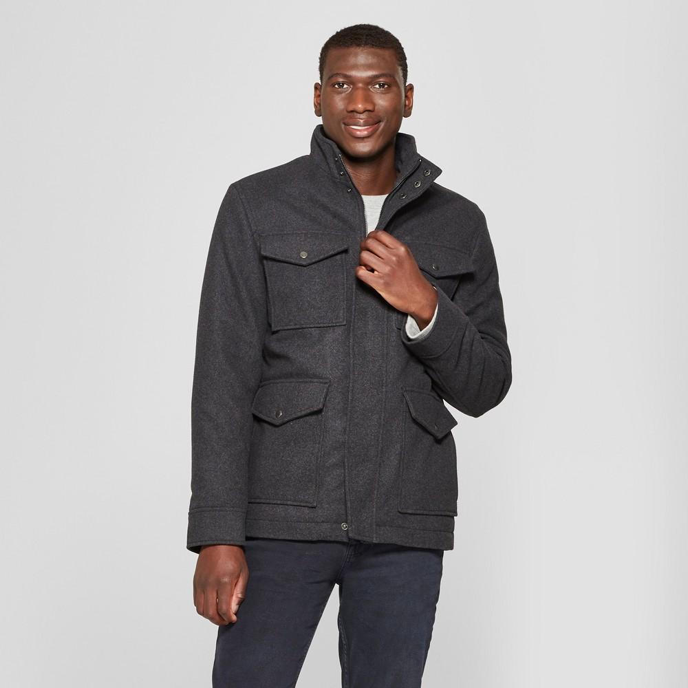 Men's Military Jacket - Goodfellow & Co Gray 2XL