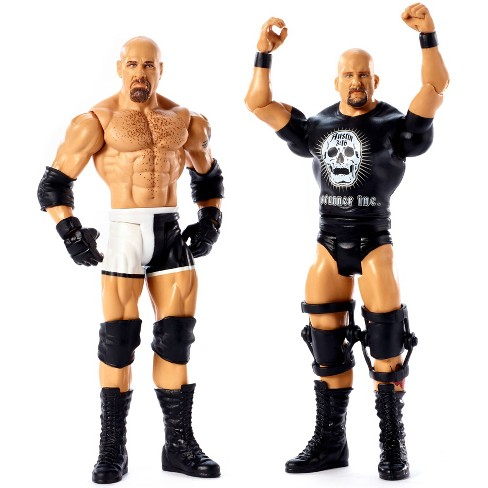 WWE Goldberg vs Stone Cold Steve Austin Battle Pack 2pk - Series #60 - image 1 of 4