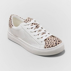 Women's Cadey Lace Up Sneakers - Universal Thread™ White