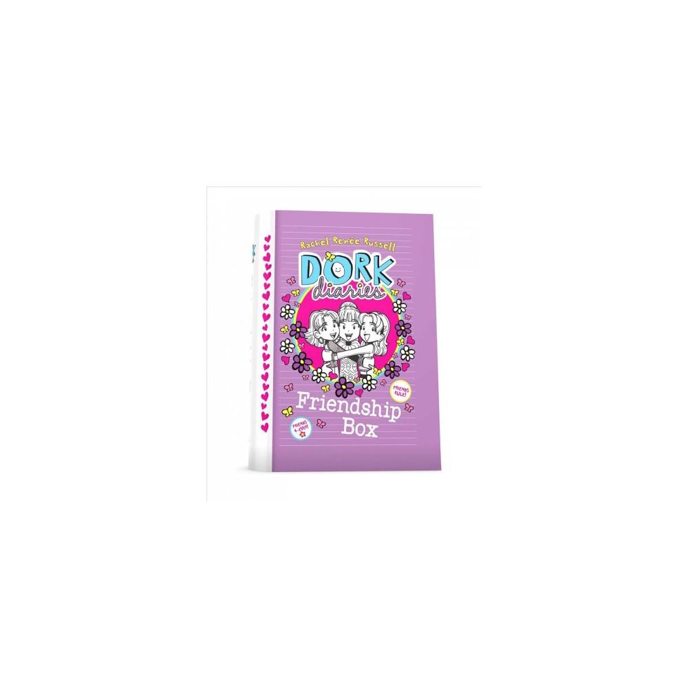 Dork Diaries Friendship Box - Combined (Dork Diaries) by Rachel Renu00e9e Russell (Hardcover)