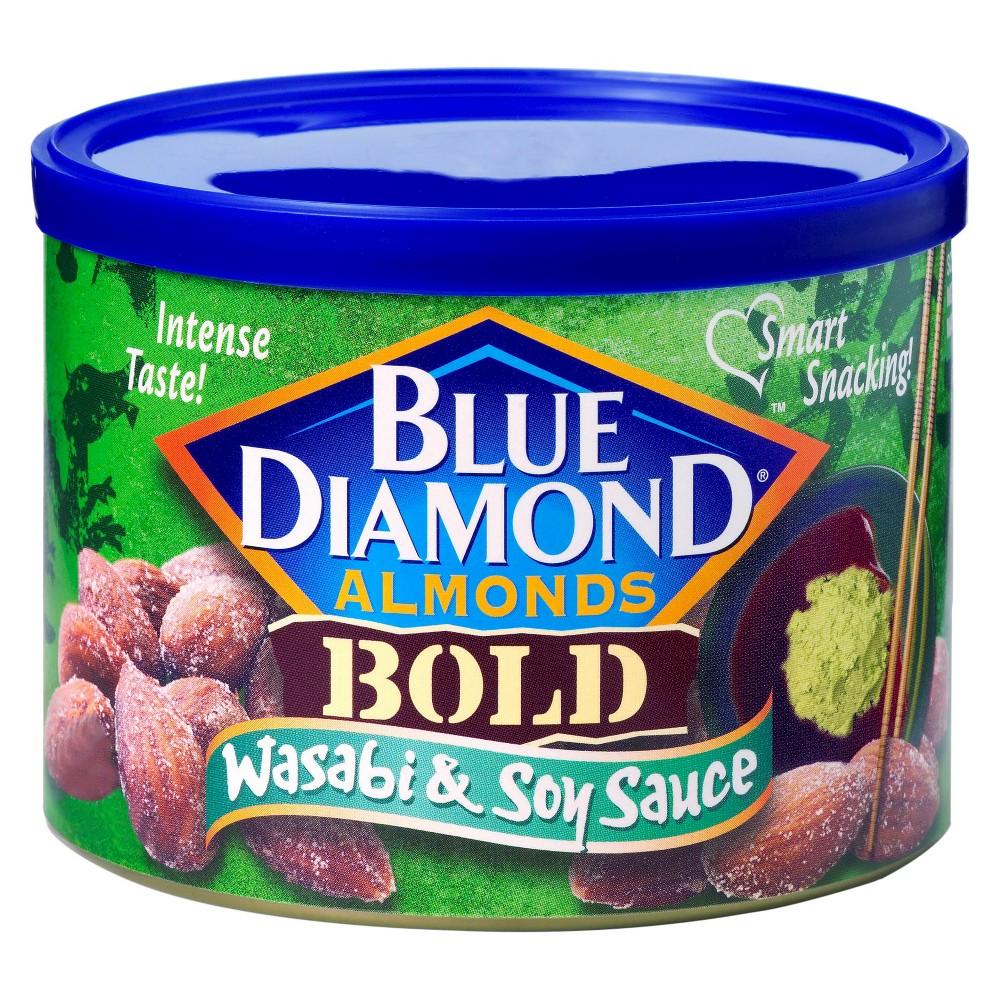 Blue Diamond Almonds Wasabi & Soy Sauce - 6oz