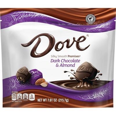 Dove Promises Silky Smooth Dark Chocolate and Almond - 7.61oz