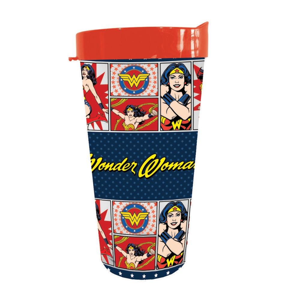 DC Comics Wonder Woman II USA Tumbler, Multi-Colored
