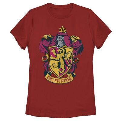 Women's Harry Potter Gryffindor Ornate Crest T-Shirt