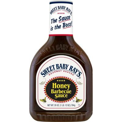 Sweet Baby Ray's Honey Barbecue Sauce - 28oz