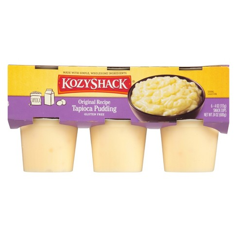 Kozy Shack Tapioca Pudding Multipack - 6ct / 4oz cups - image 1 of 4