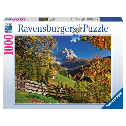Mountains in Autumn 1000pc Puzzle - image 1 of 2