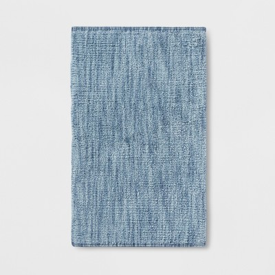 Tonal Bath Rug Chambray - Threshold™
