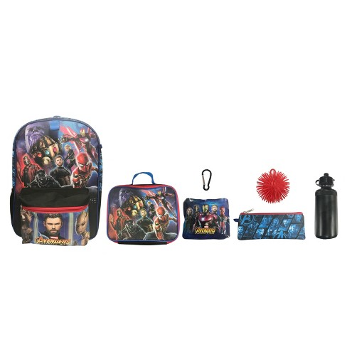 "Avengers 16"" Kids' Backpack - 7pc Set - image 1 of 10"
