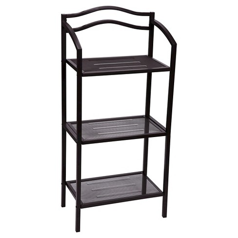 Household Essentials® 3-Tier Decorative Shelving Unit - Brown - image 1 of 2