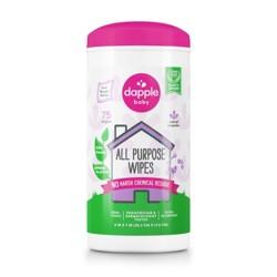 Dapple All Purpose Lavender Baby Wipes - 75ct