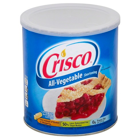 Crisco All-Vegetable Shortening - 48oz : Target