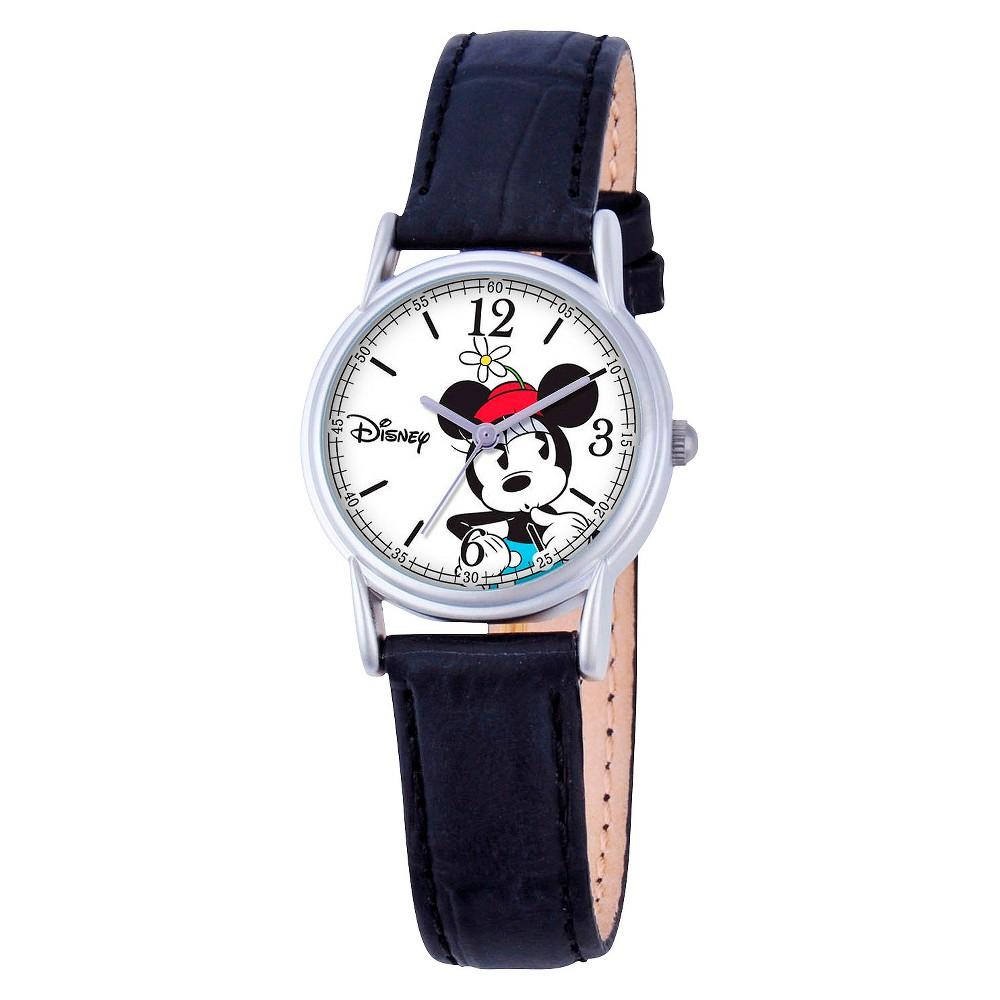 Women's Disney Minnie Mouse Cardiff Watch - Black