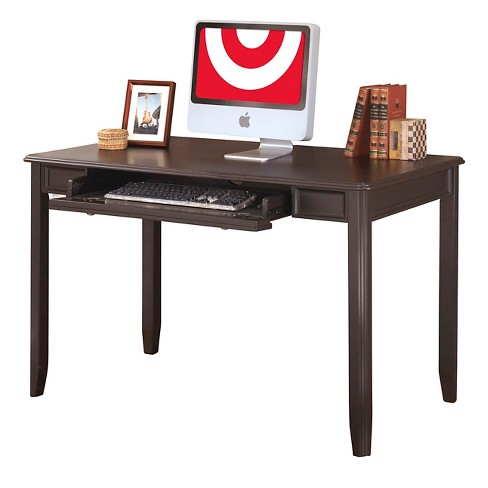 Carlyle Home Office Small Leg Desk Almost Black - Signature Design by Ashley - image 1 of 1