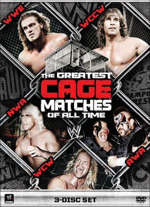 Wwe:Best Cage Matches (DVD) - image 1 of 1