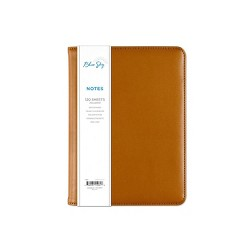 Blue Sky Padfolio with Spiral Subject Notebook