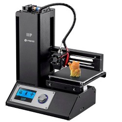 Dorm Room Office or The Classroom Print Via WiFi Monoprice MP Cadet 3D Printer Small Footprint Perfect for a Desktop Full Auto Leveling