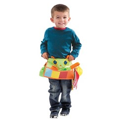 Melissa & Doug Sunny Patch Happy Giddy Garden Tool Belt Set With Gloves, Trowel, Watering Can, and Pot