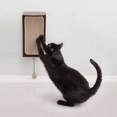 Hauspanther CATchall Cat Scratcher - Espresso