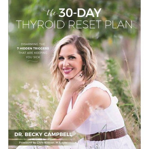 The 30-Day Thyroid Reset Plan - by  Becky Campbell (Paperback) - image 1 of 1