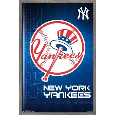 Trends International MLB New York Yankees - Logo 16 Framed Wall Poster Prints