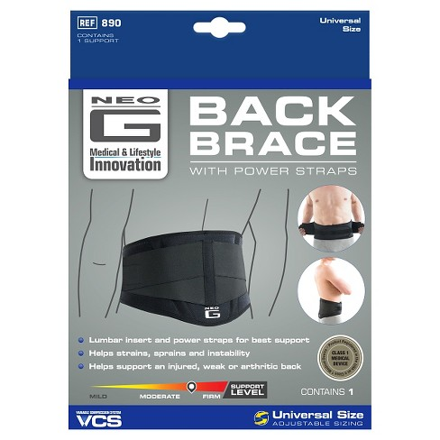 Neo G Back Brace with Power Straps - One Size - image 1 of 6
