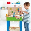 Hape Wooden Child Master Tool and Workbench Toy Pretend Builder Set for Kids 3+ - image 2 of 4