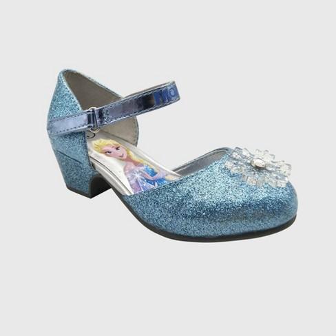 Toddler Girls' Frozen Ballet Flats - Blue - image 1 of 3