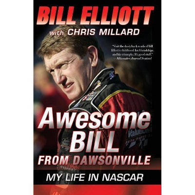 Framed Bill Elliott Autograph Replica Print #11 Car Awesome Bill from Dawsonville