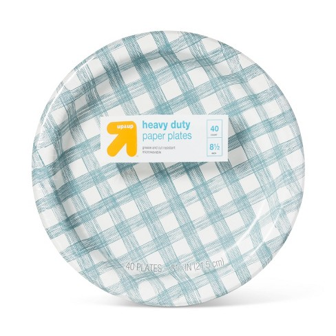 "Paper Plate Line Plaid 8.5"" - 40ct - Up&Up™ - image 1 of 2"