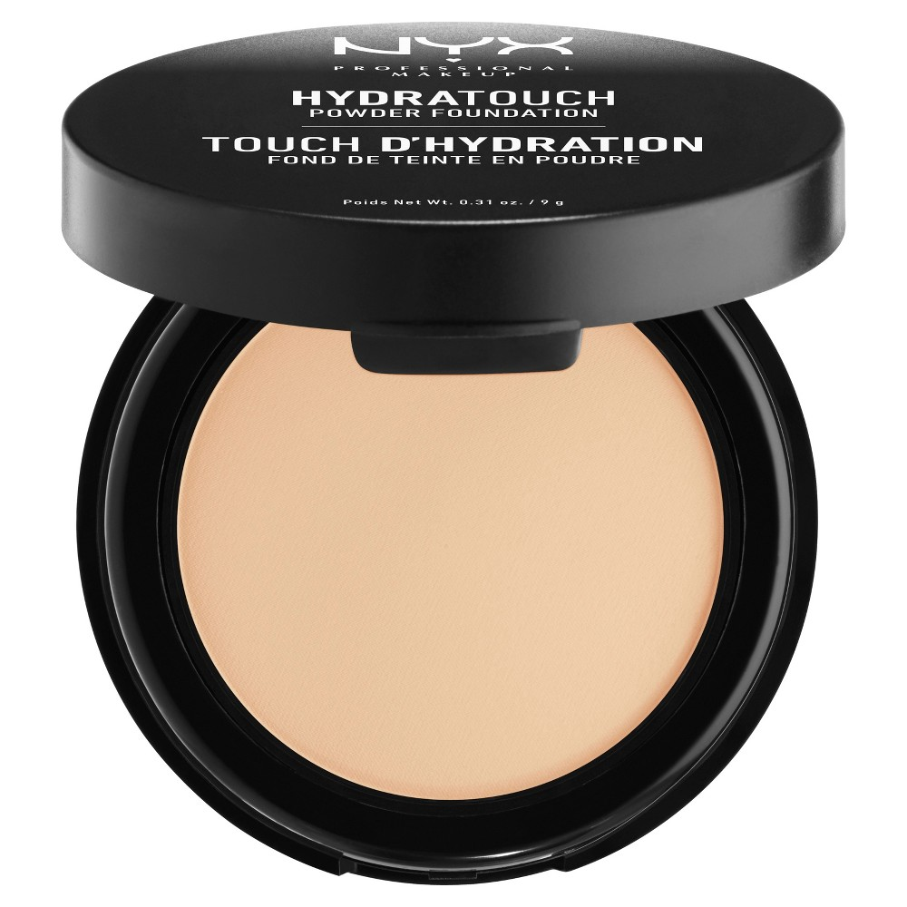 Nyx Professional Makeup Hydra Touch Powder Foundation Natural - 0.31oz