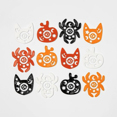 12ct Shaped Stencils Halloween Party Favors - Hyde & EEK! Boutique™