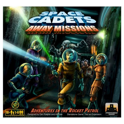 Space Cadets Away Missions Cooperative Board Game