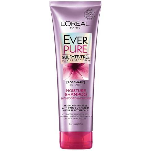 L'Oreal Paris EverPure Sulfate Free Moisture Shampoo - 8.5 fl oz - image 1 of 3