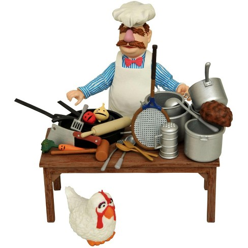 The Muppets Swedish Chef Action Figures - image 1 of 4