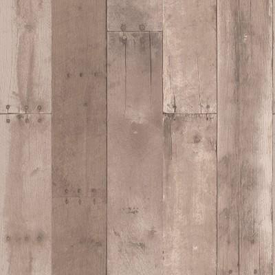 Reclaimed Wood Peel & Stick Wallpaper Brown - Threshold™