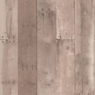 Reclaimed Wood Peel & Stick Wallpaper Brown - Threshold™