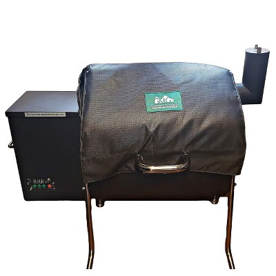 Green Mountain Grills 6012 Davy Crockett Heavy-Duty Weather-Resistant Insulated BBQ Grill Thermal Blanket, Black