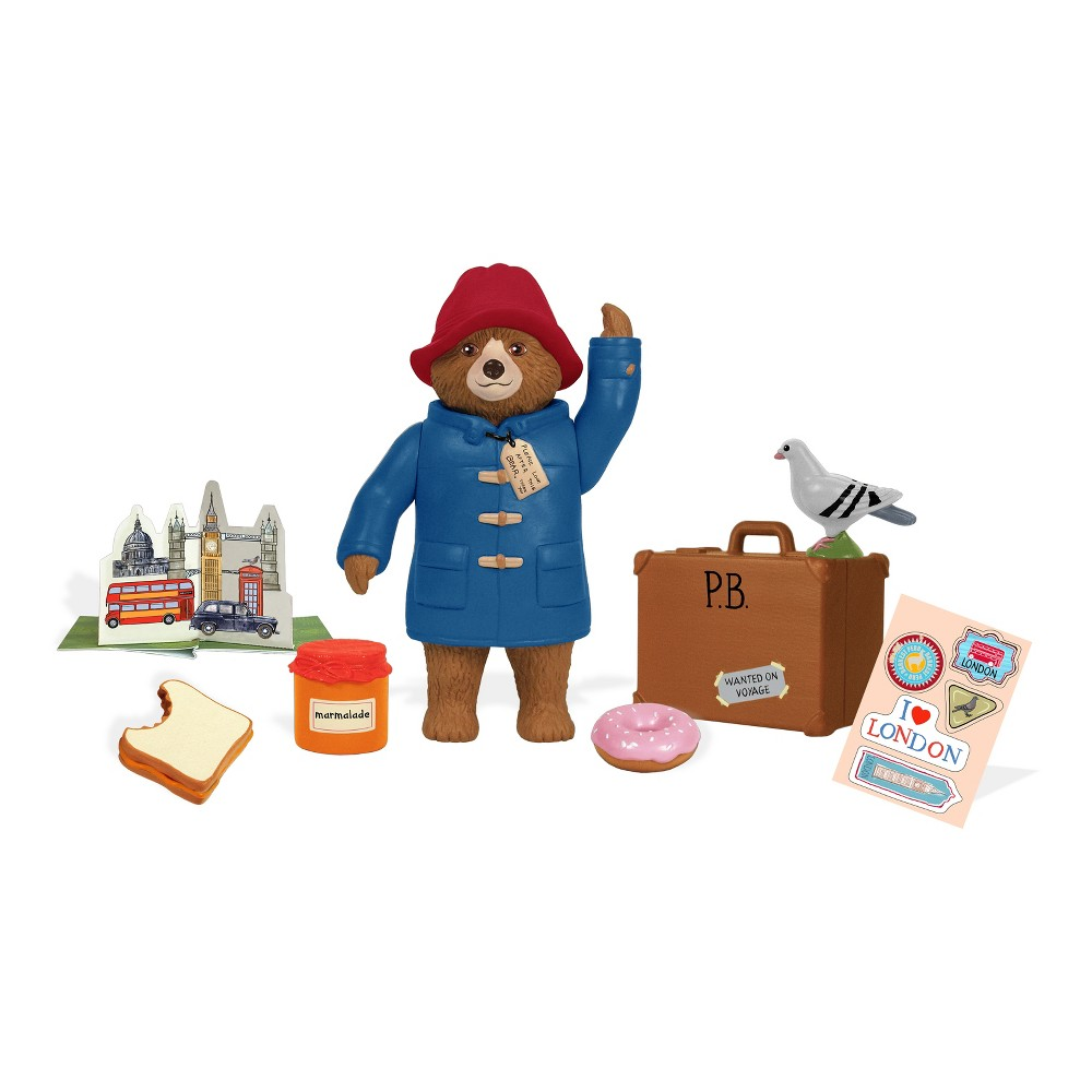 Paddington Bear Poseable Figure Play Set