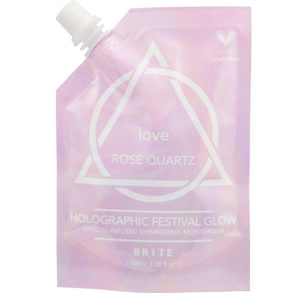 Brite Festival Glow Shimmering Love Rose Quartz Moisturiser - 3.38 fl oz