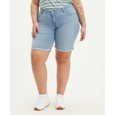 Levi's® Women's Mid-Rise Bermuda Jean Shorts