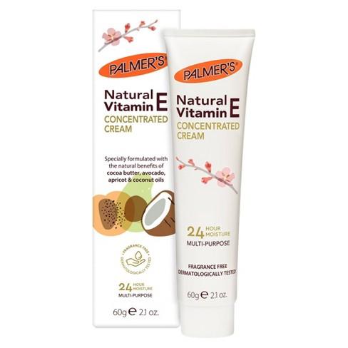 Palmers Natural Vitamin E Concentrated Cream - 2.1oz - image 1 of 4